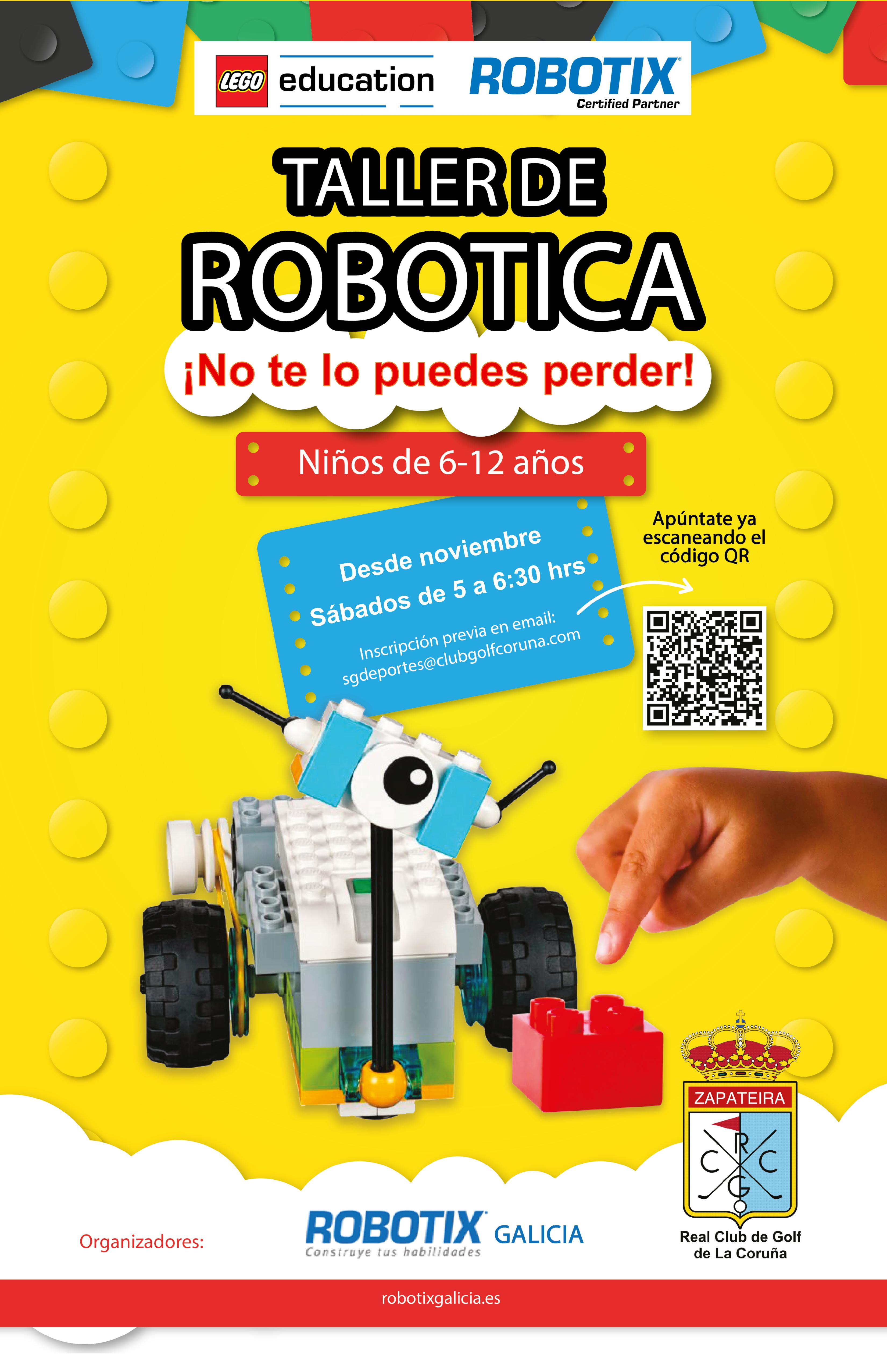 Talleres de robótica: Robotix by Lego education