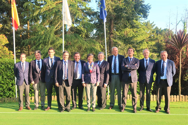 Junta directiva Real club de Golf